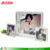 Hot sell 3 layers beautiful acrylic easel lucite perspex picture frame with magnetic