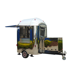 Top quality Ice Cream Application Food Trailer Coffee Truck