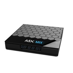 A5X MIX Android 9.0 4K RK3318 2.4/5G WIFI 100M LAN RK3318 Quad-Core 64bit 2G/4GB EMMC 16G/32G/64GB Set Top Box Media Player