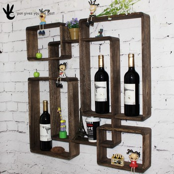 Living Room And Bathroom Wall Hanging Wood Shelves For Decorative Cabinets Part 40