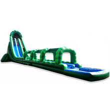 36ft outdoor tallest green giant the hulking inflatable Water Slide/ waterslide for adult