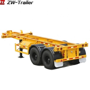 China manufacturing 20ft container tractor trailer for sale