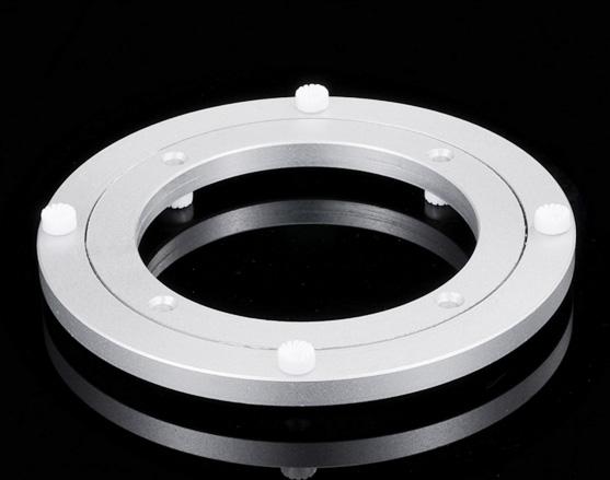 Swivel Platten Möbel Hardware Neue Design Lazy Susan Aluminium Kugellager Plattenspieler Lager Schwenk Platte