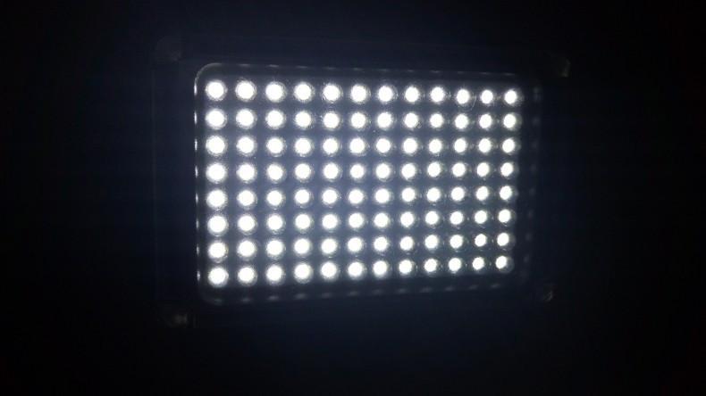DIGITALFOTO Mini 96/112 LED Light Photo Light on Camera Hotshoe Dimmable LED Lamp for Camcorder DV DSLR Youtube