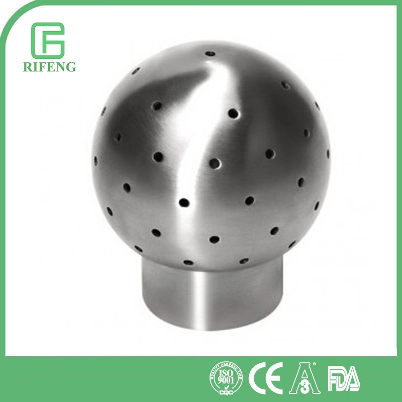 SS304 CIP Sanitary stainless steel spray cleaning ball