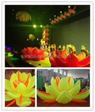 2014 new brand/event/party/stage decoration/inflatable lotus
