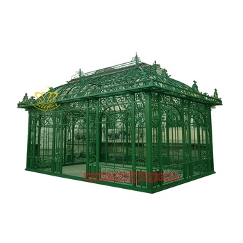 Rattan Garden decoration Wrought Iron Outdoor Gazebo For Sale