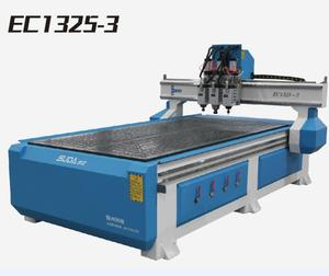 SUDA Latest heavy duty multi spindle wood carver 3 head cnc router