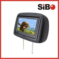 9 Inch Headrest cab car Taxi Advertising Monitor with wifi 3g
