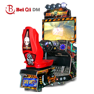 Beiqi Dirty Driving racing car simulator video game machine for children game park
