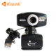 Black color 800 Pixel USB 2.0 HD Web Cam Camera With MIC For Computer PC Laptop Foot Webcam