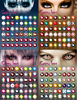 192 Designs Korea Yearly Sharingan Contact Lens Wholesale Colored Naruto Cosplay Contacts FreshTone Halloween Contact Lenses