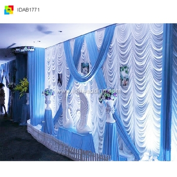 Customized wedding backdrop curtainlighted backdrop curtain customized wedding backdrop curtainlighted backdrop curtain decoration for wedding junglespirit Image collections
