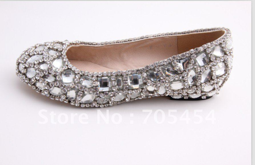 Women S Shoes Crystals Flat