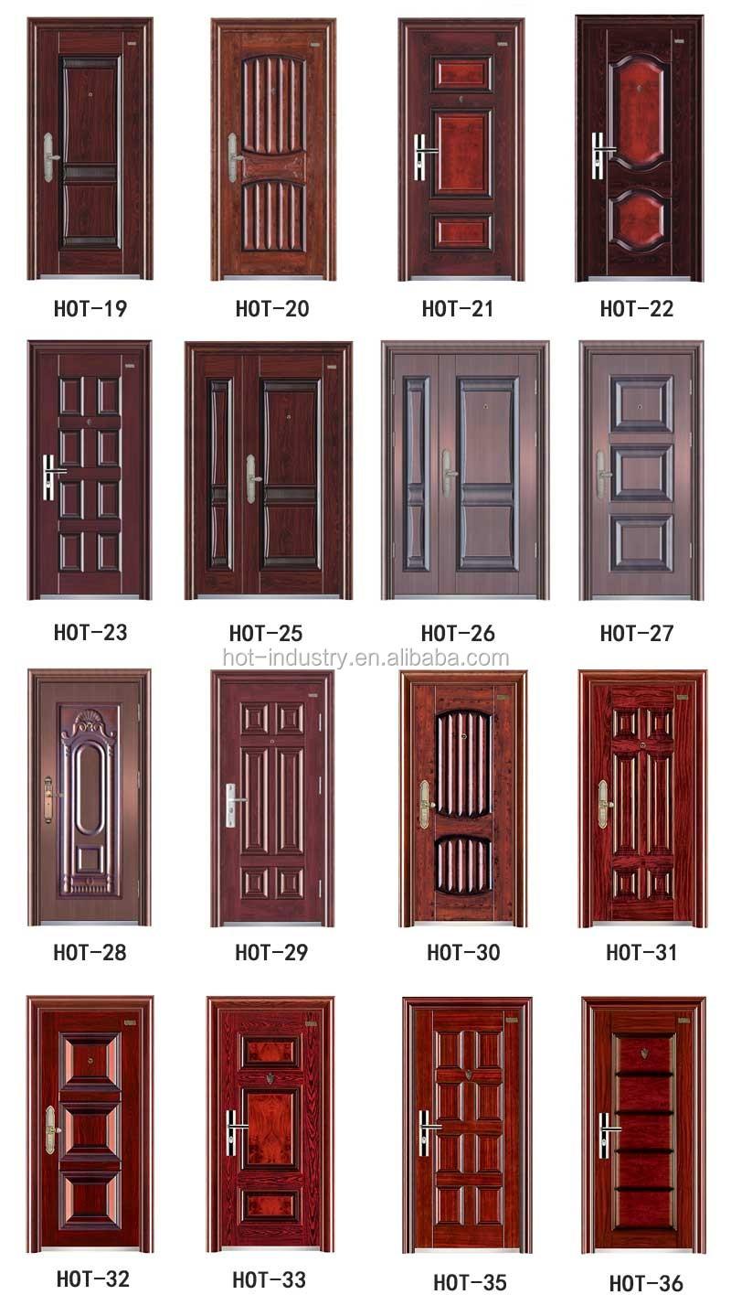 High Quality Steel Fire Door Fashion Wooden Door Frames Designs ...