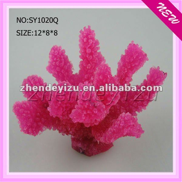 Aquarium soft artificial coral/Imitation coral/fake coral for sale