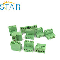 300V 15A 5.08mm Pitch 4-Pin PCB Screw Terminal Block Connector