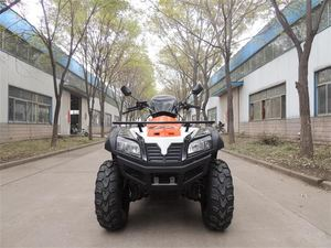 EPA Certification and 400cc ATV Displacement 4 wheel bike