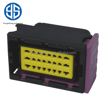 24 Way Automotive Waterproof Connectors Female ECU Connector