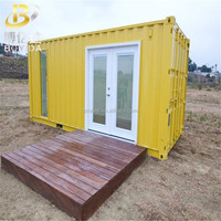 hight quality 20 feet steel structure economic container homes house price