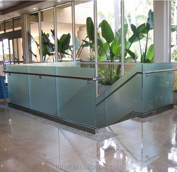Stainless Steel Shoe Base Glass Rails U Channel Glass Railing ...