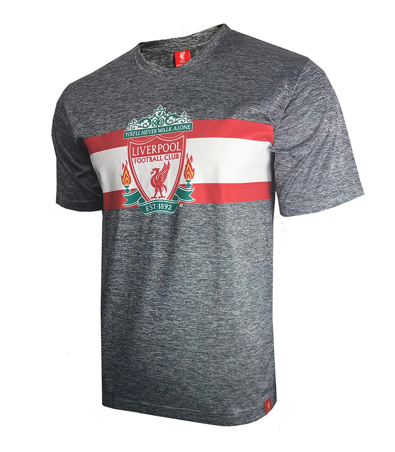 e8f3da620 Get Quotations · Icon Sports Official Licensed Liverpool FC Men's Training  Tee