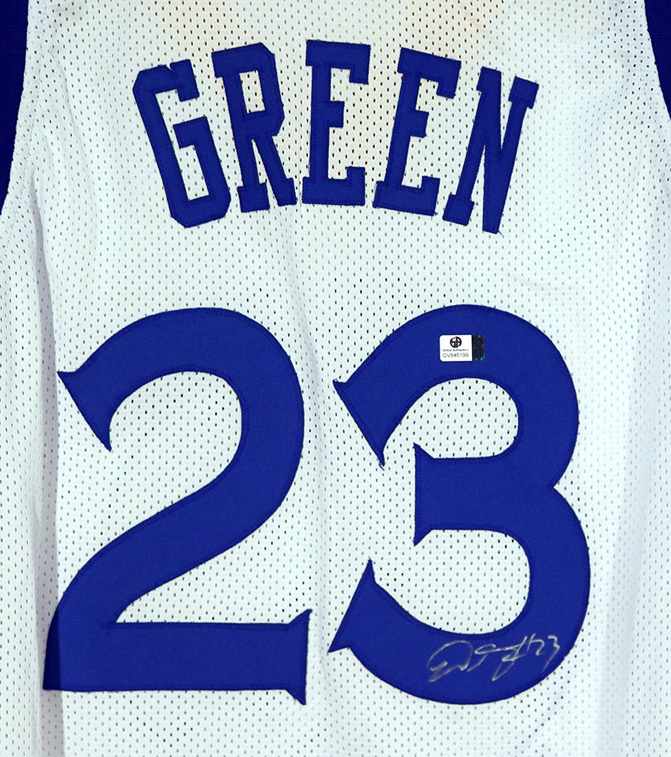 41d416ed566 Draymond Green Golden State Warriors Signed Autographed White  23 Custom  Jersey COA
