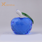 Elegant Folk Crafts Gift Crystal Glass apple For Souvenir Present