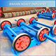 pre stressed concrete cement electrical centrifugal spun pole making machine