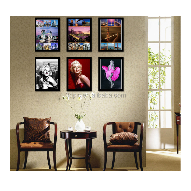 ThreeD Wholesale 40*40cm 5d pictures with animal horse design