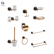 <span class=keywords><strong>Antieke</strong></span> Badkamer <span class=keywords><strong>Accessoires</strong></span> Set Rose Goud <span class=keywords><strong>Bad</strong></span> Hardware Set