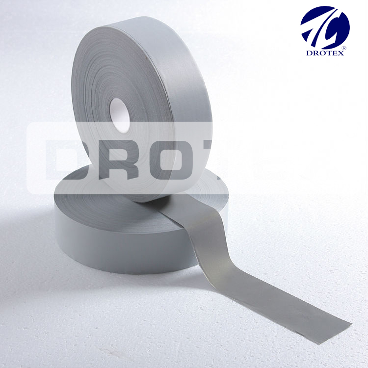 Light Custom Printed Retro Reflective Fabric Tape,Elastic Fire Retardant Waterproof Reflective Tape Strip For Clothing