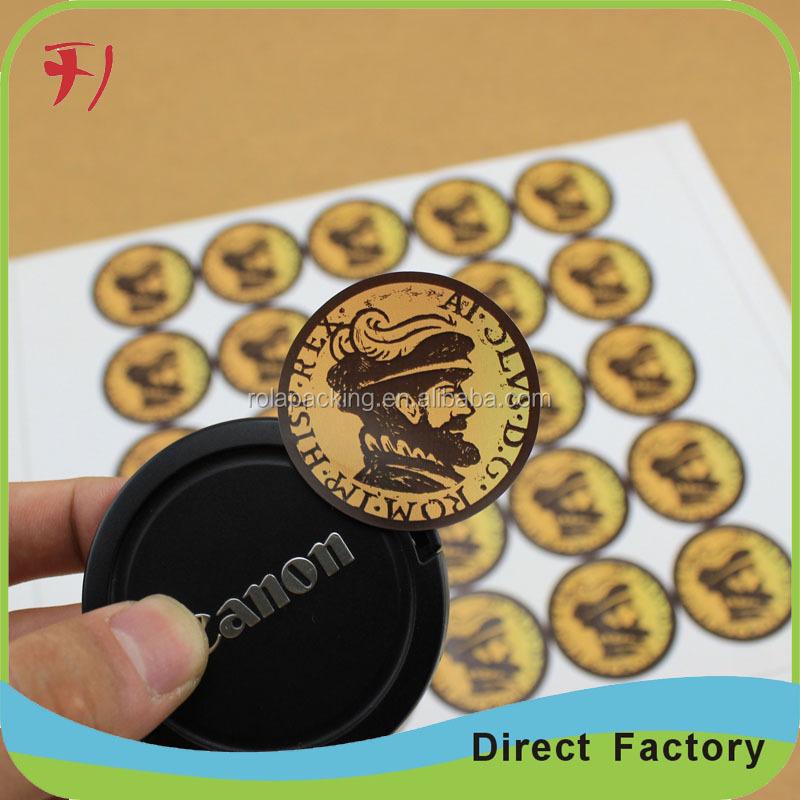 Customized Fashion Eco-friendly luggage cd label to print custom cap sticker printing