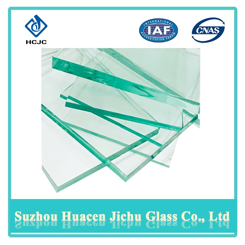 Complete specifications 3300*2140mm clear toughened 4mm clear float glass for table