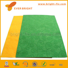 Top and Qualified 100% wood Embossed Non-woven Felt