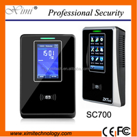 standalone access control with free software 125KHZ ID card time attendance access control system SC700