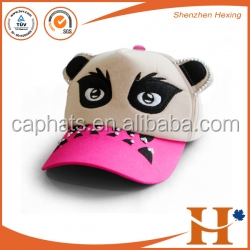 winter high quality promotional animal trucker hats for kids