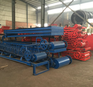 Large Capacity Belt Conveyors System For Wood Chip