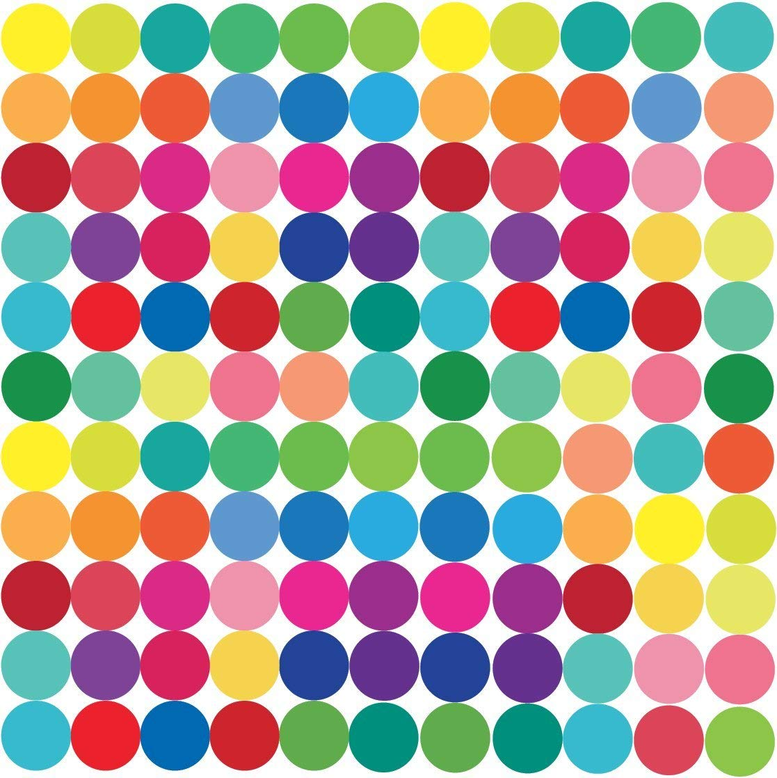 Buy Gold Wall Decals Polka Dots Wall Stickers Vinyl Round