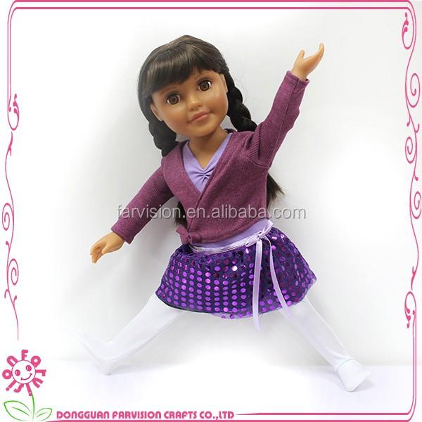 China real sport girl doll like children sweet doll