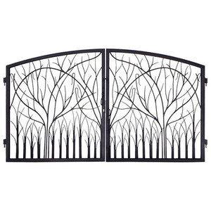 Double Opening Gate/High-quality New Design Iron Gate/Sliding Gate For Home