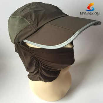 b442d9ecb1b89 New Summer Womens and Mens Sun Protection Windproof Fishing Cap Neck Face  Flap Hat