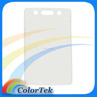 BRADY Vertical Top Load Credit Card Size Vinyl Badge Holder 1820-1050