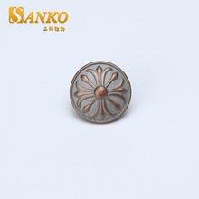 plating copper tin 18mm metal snap fasteners button for jacket