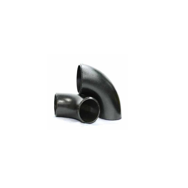 Customized black steel carbon steel pipe fitting elbow