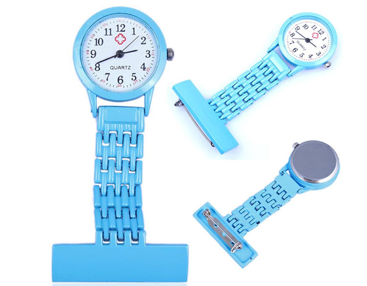 Made In China Wholesale Price Clip Style Colorful Silicone Nurse FoB Watch