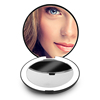 Folding Natural Daylight Beauty Compact Makeup Mirror With LED Lights