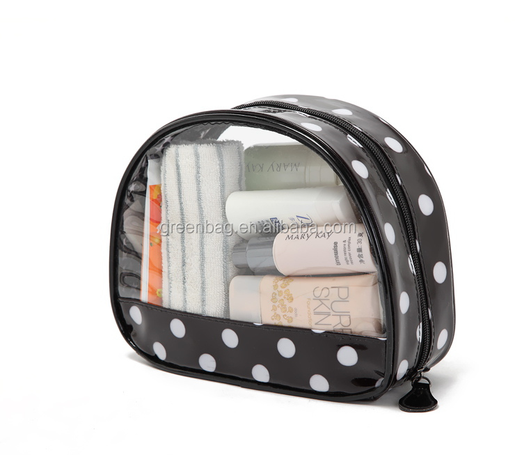 Women cosmetic bag pvc toiletry bag