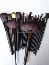 wholesale!!! 24 pcs professional high quality makeup brushes portable makeup kits