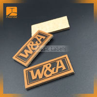 Professional Manufacture top quality leather labels for handbags, wholesale clothing brand labels
